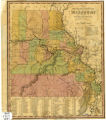 The Travellers Pocket Map of Missouri with its Roads and Distances