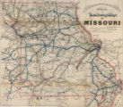 Commissioners official railway map of Missouri
