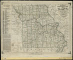 Parker's geological map  of the state of Missouri