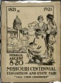 Missouri Centennial Exposition and State Fair poster, Aug. 8 - 20, 1921, ink master for black printing plate