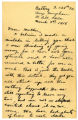 "Letter from Owen ""Glen"" Tudor to his mother - March 9, 1918"