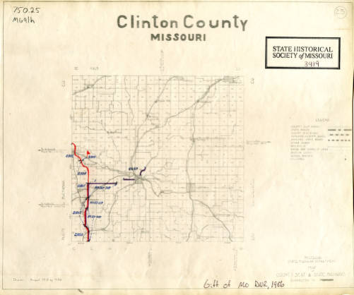 Clinton County, Missouri / Missouri State Highway Department ; drawn ...