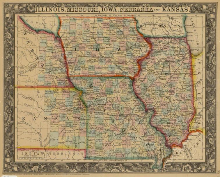 Map of Illinois, Missouri, Iowa, Neska, and Kansas - Map ... Kansas Maps on nevada map, arkansas map, louisiana map, southern utah map, michigan map, dallas map, hawaii map, new jersey map, kentucky map, mississippi map, wichita map, illinois map, california map, ohio map, arizona map, missouri map, maine map, montana map, oklahoma map, maryland map, wisconsin map, iowa map, tennessee map, florida map, topeka map, colorado map, buffalo map, nebraska map, texas map, indiana map, minnesota map, neosho county map, new york map,