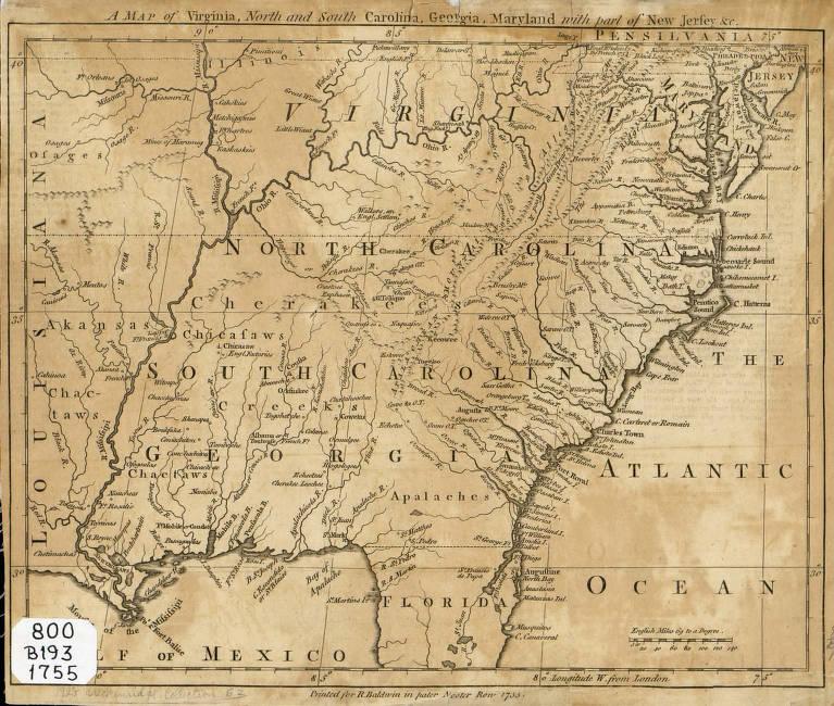 Map Of Georgia And North Carolina.A Map Of Virginia North And South Carolina Georgia Maryland With